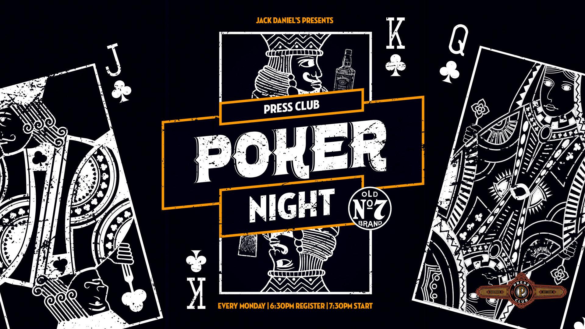 Press Club Poker