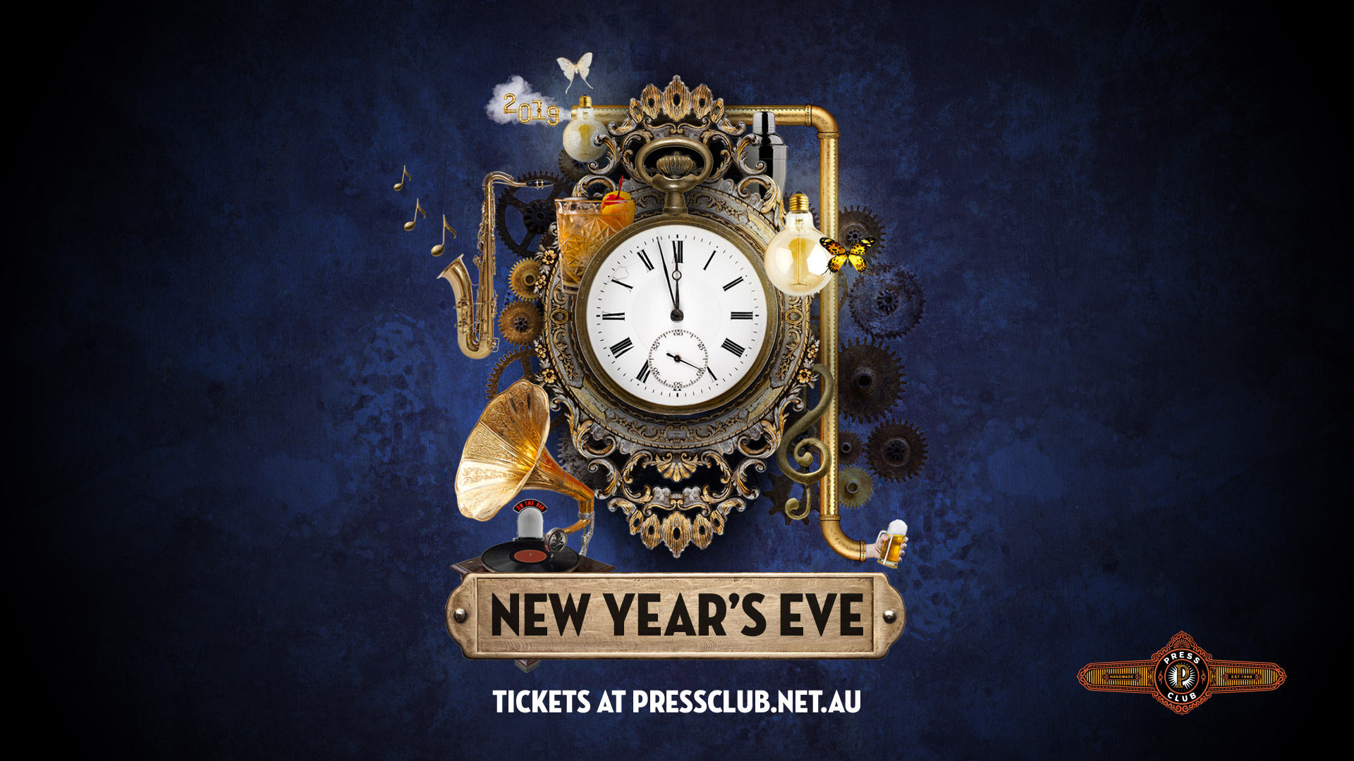 New Year's Eve at Press Club